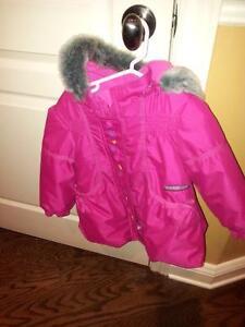 Manteau d'hiver pour fille (3 quarts)