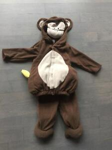 Size 2t - toddler - monkey Halloween costume