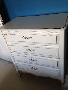 White Dresser & Chest