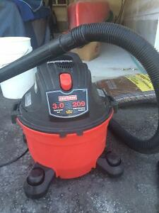 Craftsman 22 Litre 3 HP Wet Dry Shop
