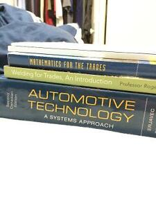 Automotive Trades Textbook - Conestoga College $200 for all