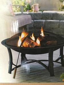 Outdoor Firepit-Brand New!