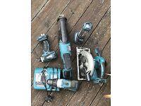 Mikita power tool set