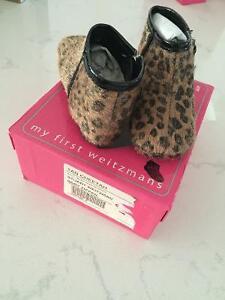 Stuart weitzman leopard booties baby size 3 new London Ontario image 1