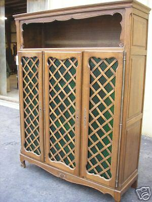 37730: Antique French Solid Oak Wardrobe Armoire Cabinet for sale  Mount Holly