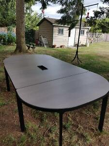 IKEA Bekant Conference Table (3 piece set connected))