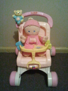 Fisher and price baby walker/doll pram Cabramatta West Fairfield Area Preview