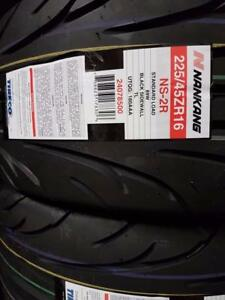 225/45ZR16 89W ns2r semi race tire low profile very grippy180-AA-A $160 each