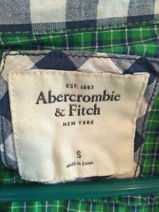Abercrombie and Fitch plaid button up Size S Kitchener / Waterloo Kitchener Area image 4
