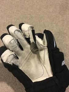 "Bauer 4 Roll Pro Gloves- Black 13"" Cambridge Kitchener Area image 5"