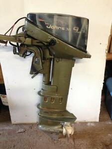 9.9 Johnson outboard,long shaft, electric start