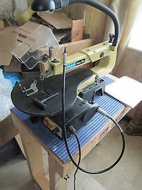 sheppach scroll saw with rotery attachment & light