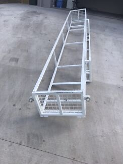 Brickies planks and profile rack $500.00 Ono