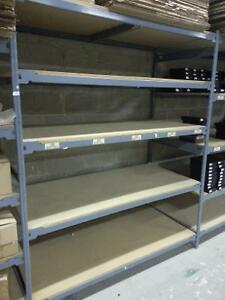 heavy duty Commercial freestanding shelving