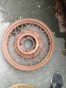 Model T axle parts and rims London Ontario image 3