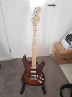 Fender Exotic Wood Series Limited Run Shedua Stratocaster