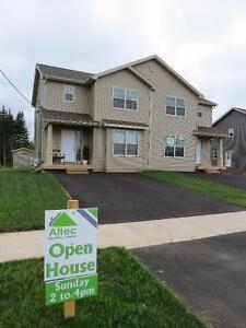 Semi Detached in Moncton -Brand New Construction.
