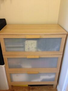 IKEA 3 large drawer dresser Gladesville Ryde Area Preview