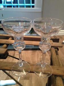 Crystal Margarita Glasses