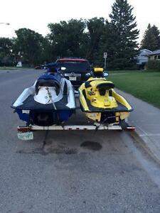 Two seedoos and trailer for sale Moose Jaw Regina Area image 3