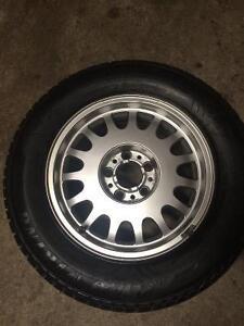 Bmw winter rims & tires