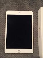iPad mini 4 16 gb gold