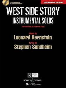 West Side Story: Instrumental Solos: Alto Saxophone and Piano by Leonard...
