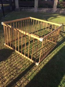 Timber playpen San Remo Wyong Area Preview