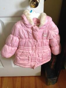Pink OshKosh winter coat 18M
