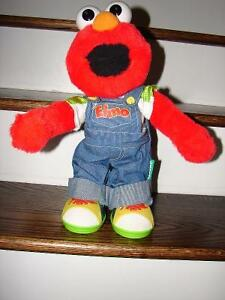 1999 MATTEL FISHER PRICE LETS PRETEND ELMO SESAME STREET MUPPET
