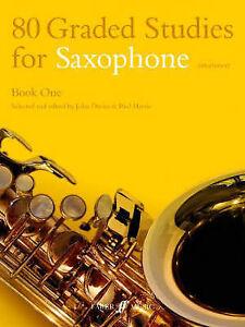 80 Graded Studies for Saxophone: Bk. 1, John Davies