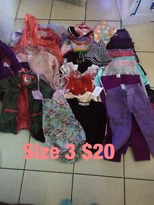 Girls clothing size 3 $20 Cabramatta West Fairfield Area Preview