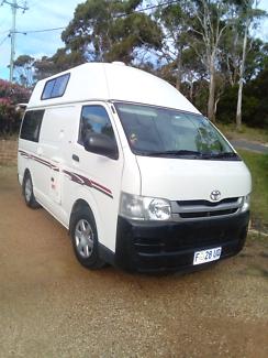 2010 Toyota HiAce Campervan Auto Petrol