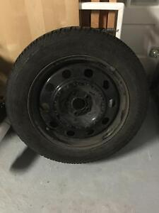 4 rims with winter tires 2013 Ford Escape