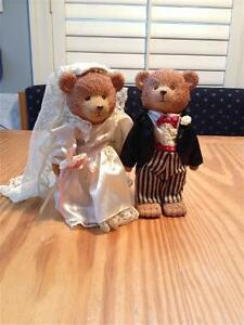 """Russ Teddy Town - 5"""" jointed bear figures"""