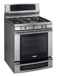 Gas range with convection oven Electrolux