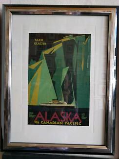 Art Deco Period Prints In Frames