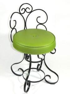 Wonderful Vintage Wrought Iron Chairs