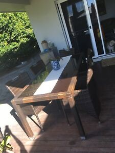 Dining Outdoor Wicker Setting Part 41