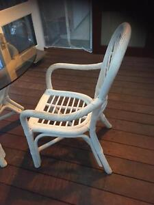 Cane Garden Outdoor Setting With 4 Chairs Part 51