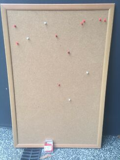 large corkboard with 50 punch pins