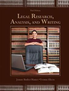 legal research analysis and writing 5th edition