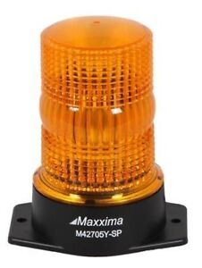 "*** 5"" LED AMBER WARNING BEACON ***"