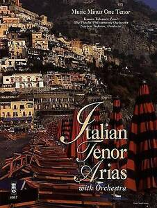 ITALIAN TENOR ARIAS WITH ORCH BK/CD