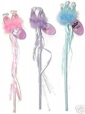 ~*~CROWN MARABOU HEART WAND~*TINKERBELL FAIRY PRINCESS  - Tinkerbell Wand
