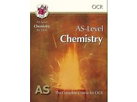 OCR AS-Level Chemistry book