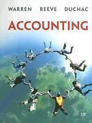 Accounting Warren Reeve Duchac