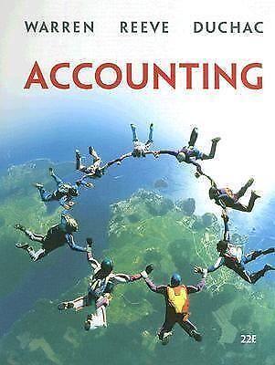 Accounting warren reeve duchac ebay fandeluxe Images