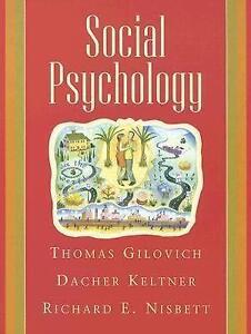Social psychology books ebay social psychology gilovich fandeluxe Choice Image