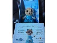 Ayana as Elsa Disney Frozen meerkat toy